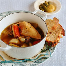 Poached Chicken and Vegetables (Poule Au Pot)