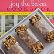 Chewy Coconut Almond Raisin Granola Bars