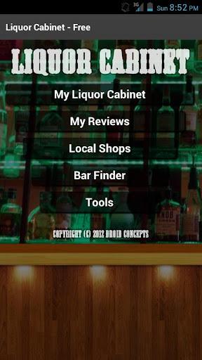 Liquor Cabinet - Free