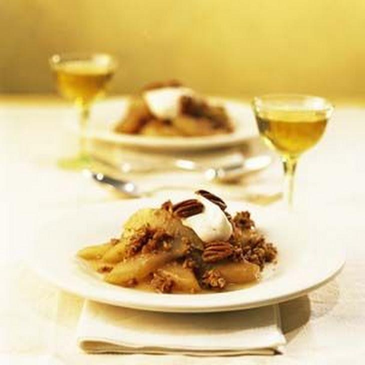 Honey-Pecan Roast Pears Recipe | Yummly