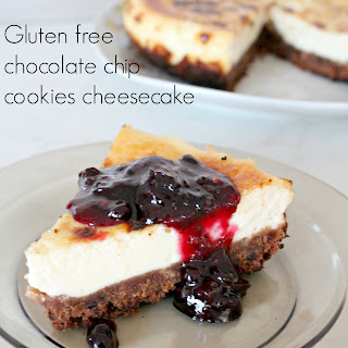 Gluten Free Chocolate Chip Cookies Cheesecake