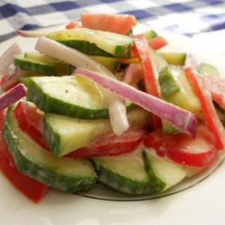 Mayonnaise Vinegar Cucumber Salad Recipes