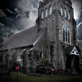 I Just Love This Church (Beautiful) by Linda Blevins - Buildings & Architecture Places of Worship (  )