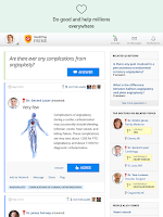 Screenshot of HealthTap for U.S. Doctors