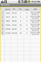 Screenshot of 48 numbers random memory