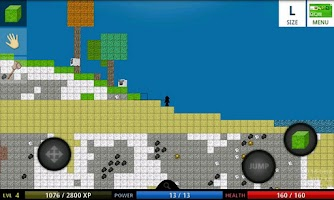 Screenshot of BlockWorld 2D LITE