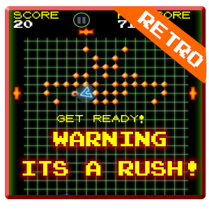 Solar Rush – fast paced retro arcade action game