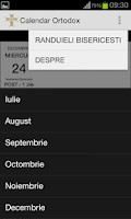 Screenshot of Calendar Crestin Ortodox 2015