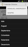 Screenshot of Calendar Crestin Ortodox 2014