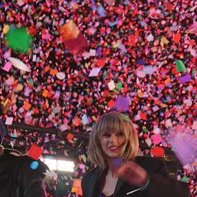 Happy New Year From Taylor Swift by VAM Photography - Public Holidays New Year's Eve ( taylor swift, new year, places, nyc, celebration, new, year, colorful, mood factory, vibrant, happiness, January, moods, emotions, inspiration,  )