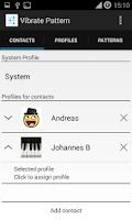 Screenshot of Custom Vibrate Pattern Full