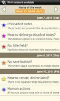 Screenshot of Notepad - Star Note Demo
