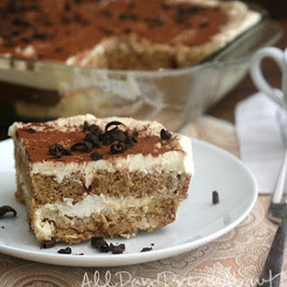 Tiramisu With Pound Cake Dessert Recipes