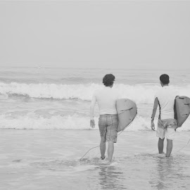 Boardies by Karyn Leong - Sports & Fitness Surfing (  )