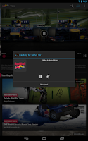 Screenshot of Red Bull TV