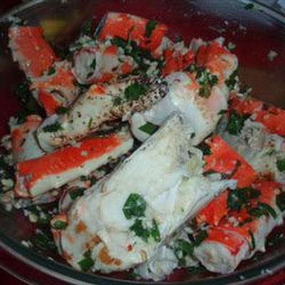 Marinated Crab Legs
