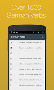 German Verb Conjugator Pro- screenshot thumbnail