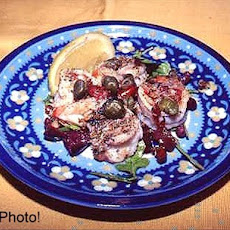 Mediterranean Summer Breeze Shrimp Appetizer