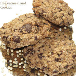 Gluten Free Oatmeal And Quinoa Cookies
