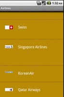 Screenshot of Airlines