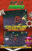 Screenshot of Ninja and Zombies