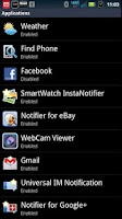 Screenshot of SmartWatch WebCam Viewer