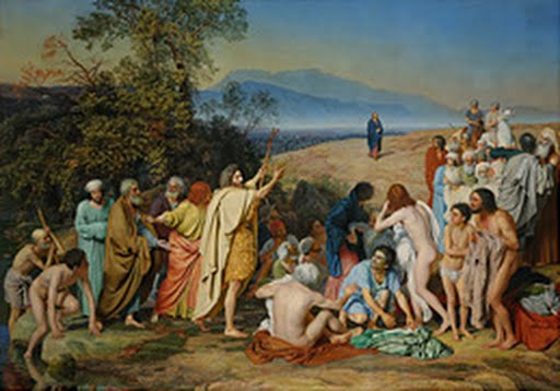 The Apparition of Christ to the People (The Apparition of the Messiah), Aleksander Ivanov