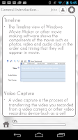 Screenshot of Learn Windows Movie Maker