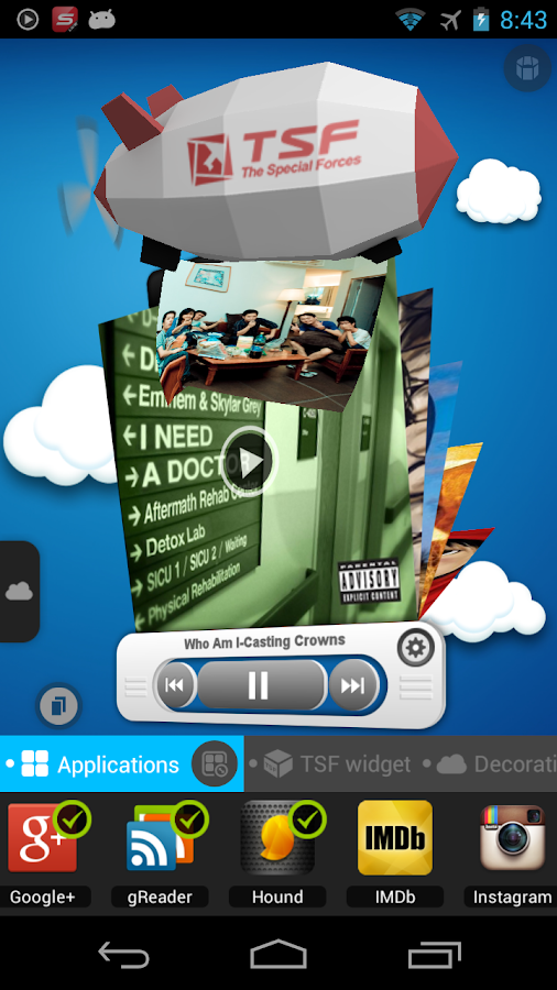 TSF Launcher 3D Shell Screenshot 6