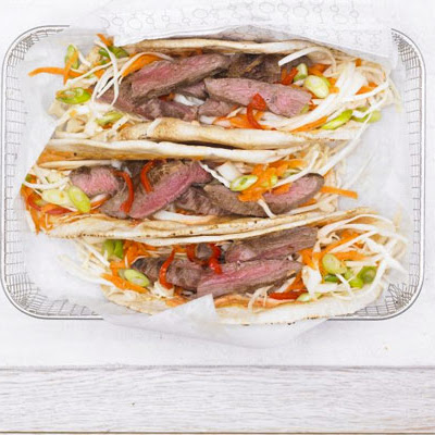 Hot Cumin Lamb Wrap With Crunchy Slaw & Spicy Mayo