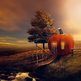 My Home by Sakura Art - Digital Art Abstract ( digital art    inspiration on your life         photomanipulation )