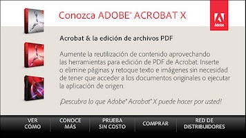 Screenshot of Acrobat X Top 5