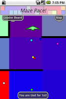 Screenshot of Maze Race