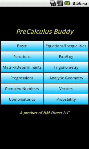 PreCalculus Buddy