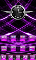 Screenshot of Purple Gloss Theme