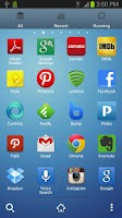 Screenshot of Galaxy S4 Go launcher EX Theme