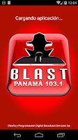 Screenshot of BLAST RADIO PANAMA