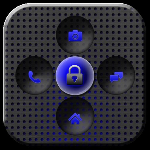 好儲物櫃鈦藍色的主題 個人化 App LOGO-APP試玩