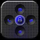GO Locker Titanium Blue Theme icon