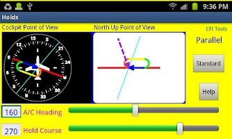 Screenshot of CFI Tools Holds