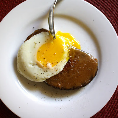 Gail Simmons's Welsh Rarebit with Guinness and a Fried Egg