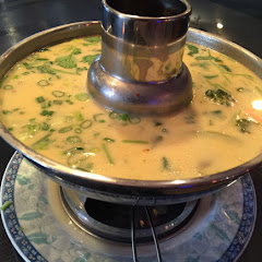 Tom Kha; Coconut and mix Vegetables soup gluten Free.