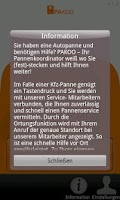 Screenshot of Pannenhilfe