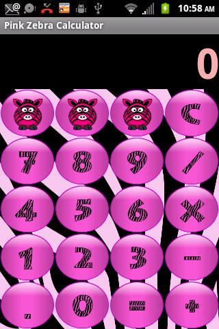 Secret Diary Pink Zebra WDP