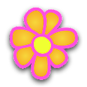 Flowers DigitalClock Extension icon