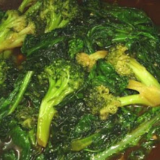 Gai Lan (Chinese Broccoli ) With Oyster Sauce