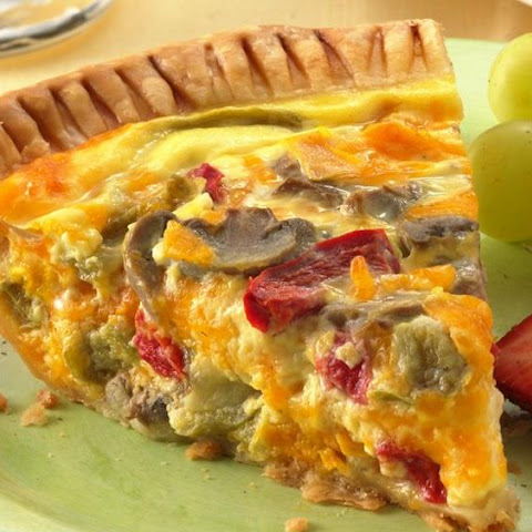 Spring Vegetable Quiche Recept | Yummly