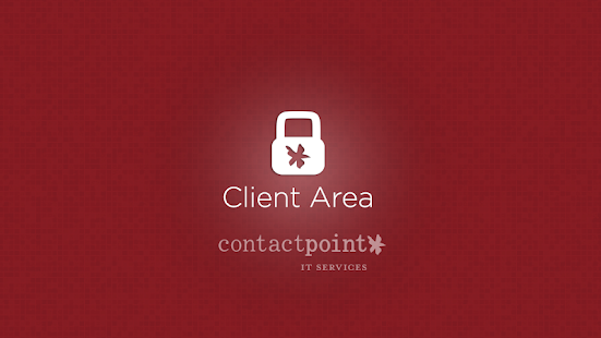Contact Point Client Area - screenshot