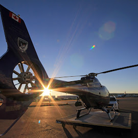 HAWC1 by Rob Evans - Transportation Helicopters ( helicopter, alberta, police, calgary, public safety )
