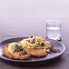Chicken Schnitzel with Capers and Parsley